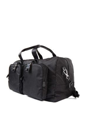 Prada: Luggage & Travel bags online - Travel nylon duffle bag