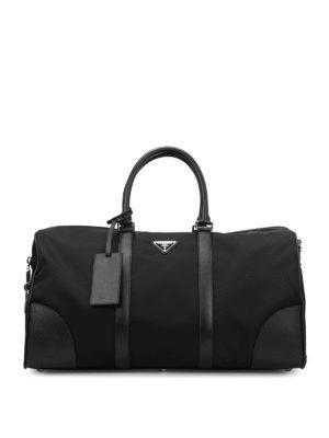 Prada: Luggage & Travel bags - Spacious duffel bag
