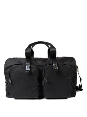 Prada: Luggage & Travel bags - Travel nylon duffle bag