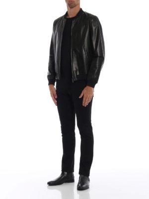 PRADA: giacche in pelle online - Bomber reversibile in nappa e nylon
