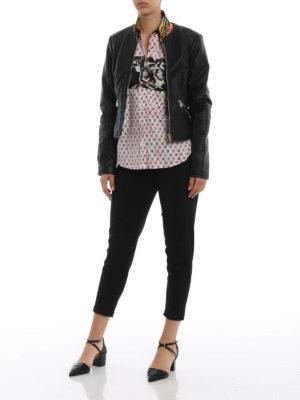 PRADA: camicie online - Camicia patchwork in cotone