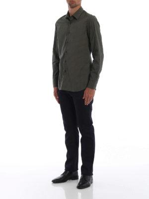 PRADA: camicie online - Camicia in popeline di cotone stampato