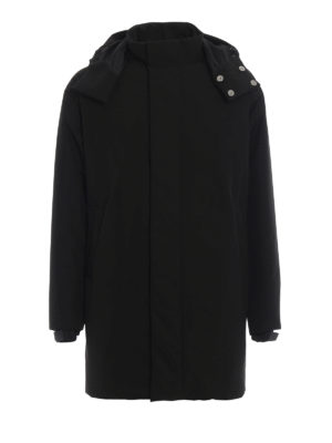 PRADA: cappotti imbottiti - Piumino con maxi tasca posteriore
