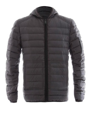Prada: padded jackets - Down padded hooded jacket