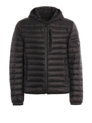 Prada: padded jackets - Extra light nylon padded jacket