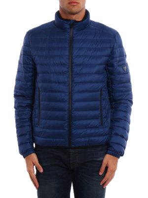 Prada: padded jackets online - Pelleovo ultralight techno jacket
