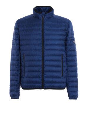 Prada: padded jackets - Pelleovo ultralight techno jacket