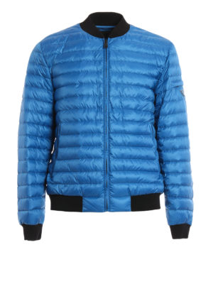 Prada: padded jackets - Quilted and padded bomber