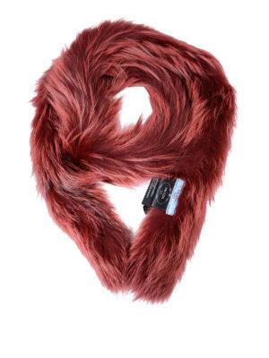 Prada: scarves - Fur scarf