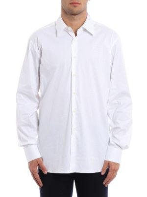 Prada: shirts online - Stretch poplin cotton shirt