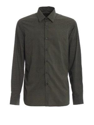 PRADA: camicie - Camicia in popeline di cotone stampato