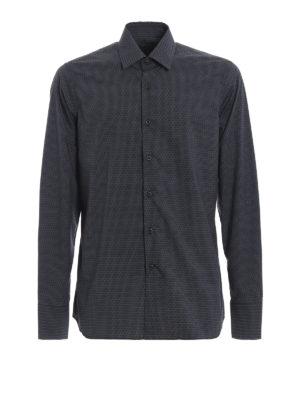 PRADA: camicie - Camicia in popeline stampato