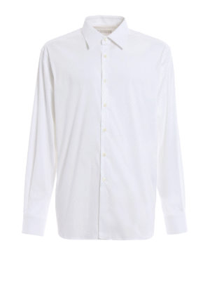 Prada: shirts - Stretch poplin cotton shirt