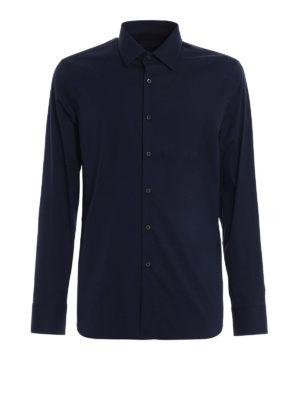 Prada: shirts - Stretch poplin shirt