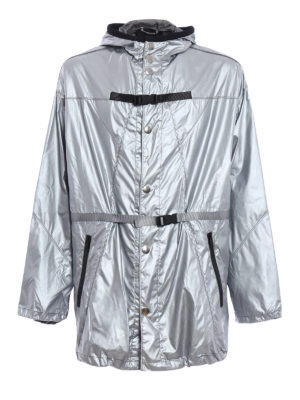 Prada: short coats - Buckle raincoat