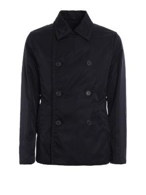 Prada: short coats - Gabardine Nylon peacoat