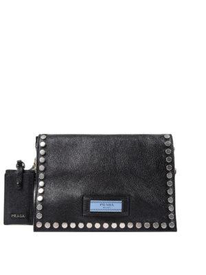 Prada: shoulder bags - Etiquette leather shoulder bag