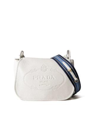 Prada: shoulder bags - Leather shoulder bag