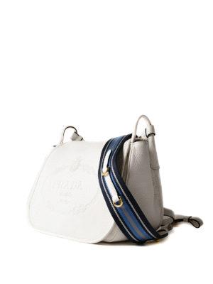 Prada: shoulder bags online - Leather shoulder bag