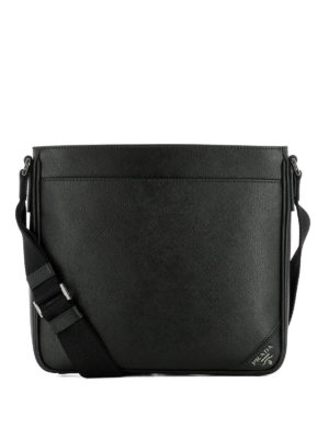 Prada: shoulder bags - Saffiano leather shoulder bag