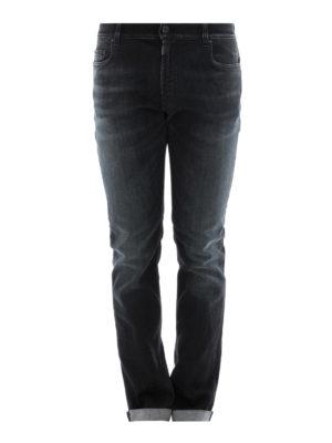 Prada: straight leg jeans - Faded cotton jeans