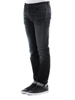 Prada: straight leg jeans online - Faded cotton jeans
