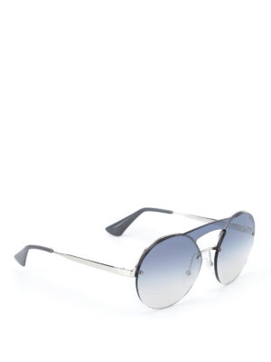 Prada: sunglasses - Cinéma sunglasses with blue lenses