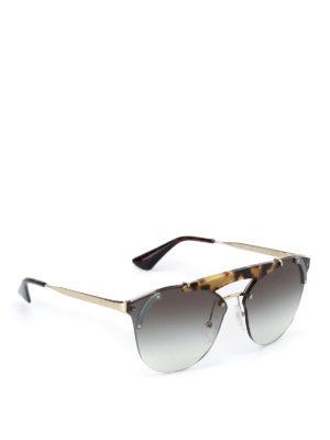 Prada: sunglasses - Ornate sunglasses