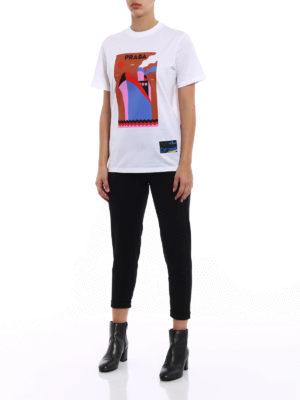 Prada: t-shirts online - JWP Boat cotton T-shirt