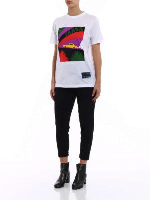 Prada: t-shirts online - JWP Car cotton T-shirt