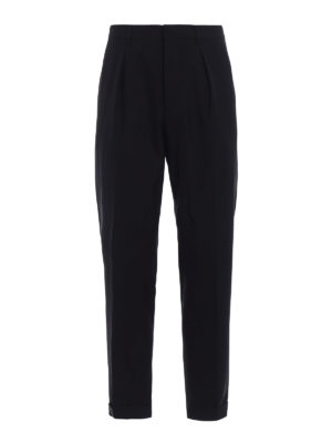 Prada: Tailored & Formal trousers - Classic styled wool blend trousers