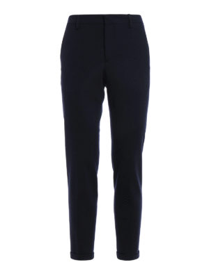 Prada: Tailored & Formal trousers - Knitted wool cloth trousers