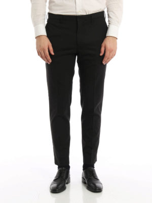 Prada: Tailored & Formal trousers online - Elegant lightwool trousers