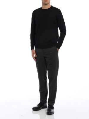 Prada: Tailored & Formal trousers online - Techno stretch fabric trousers