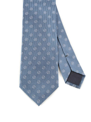 Prada: ties & bow ties online - Micro patterned silk tie