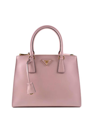 Prada: totes bags - Brushed leather tote bag