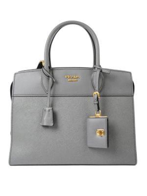 Prada: totes bags - Esplanade leather tote