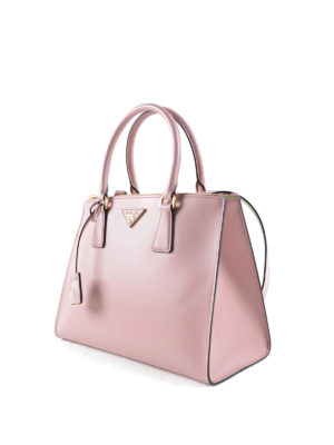 Prada: totes bags online - Brushed leather tote bag