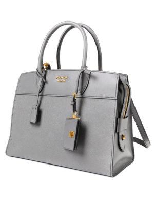 Prada: totes bags online - Esplanade leather tote