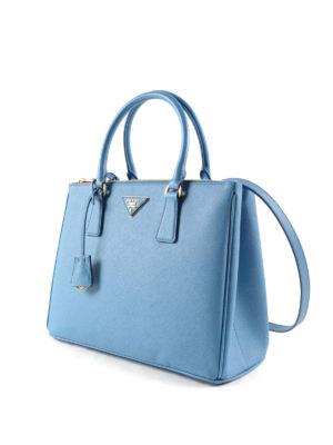 Prada: totes bags online - Saffiano leather tote