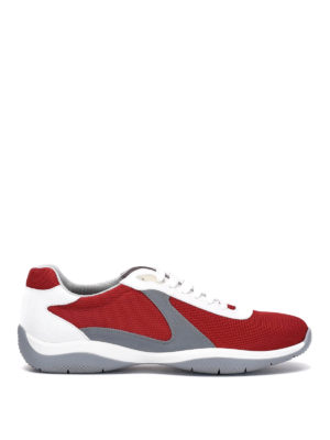 Prada: trainers - High-tech mesh sneakers