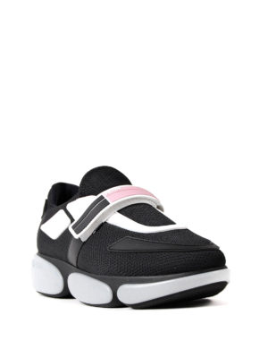 Prada: trainers online - Cloudbust knitted fabric sneakers