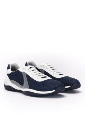 Prada: trainers online - High-tech mesh sneakers