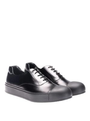 Prada: trainers online - Rois brushed calfskin sneakers