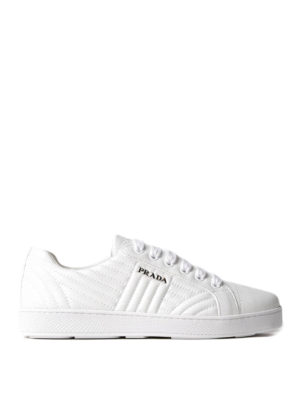 Prada: trainers - Quilted nappa sneakers