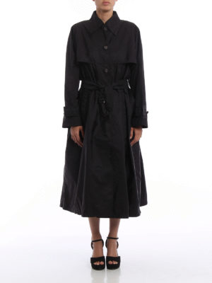 Prada: trench coats online - Nylon long trench