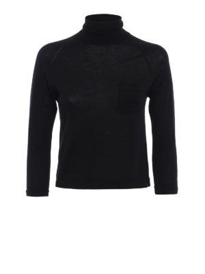 Prada: Turtlenecks & Polo necks - Pure wool crop turtleneck