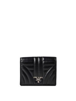 Prada: wallets & purses - Diagramme bifold wallet