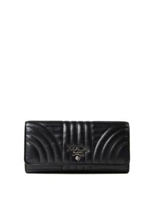 Prada: wallets & purses - Diagramme continental wallet
