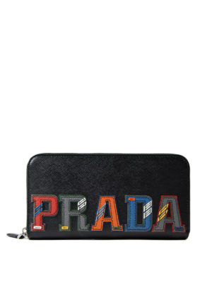 Prada: wallets & purses - Multicolour character wallet